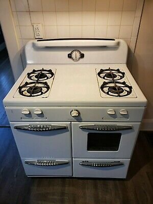Find Many Great New Used Options And Get The Best Deals For Vintage 1940s Roper Gas Stove And 4 Burner Range Stoves For Sale Gas Stove For Sale Stoves Range