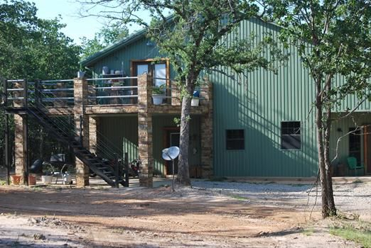 Metal Shop Building With Living Quarters Fort Worth
