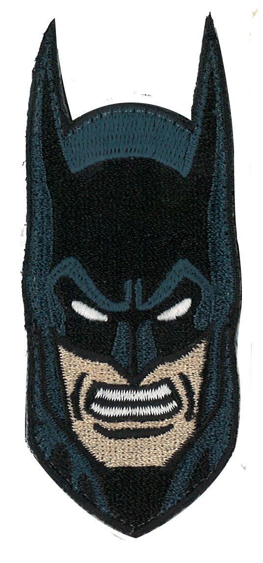 Superman cara 1  termoadhesivos bordados aplique para ropa Parches