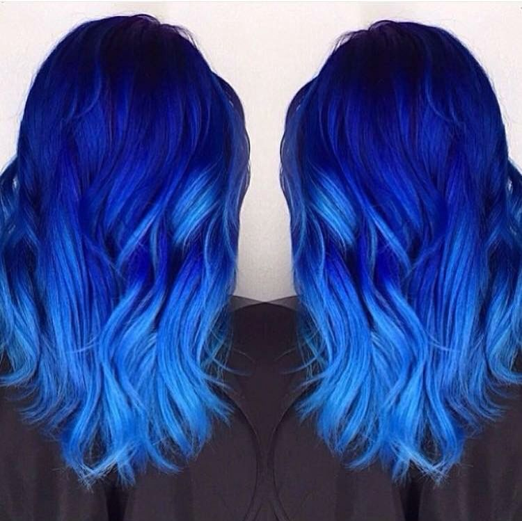 Cabello Azul Hair Styles Hair Color Blue Long Hair Styles
