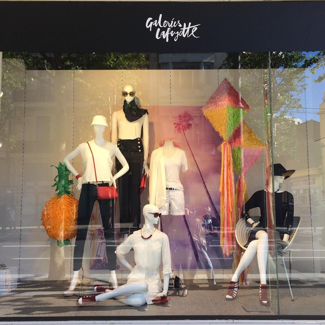 Window display ideas  galeries lafayetteparis france