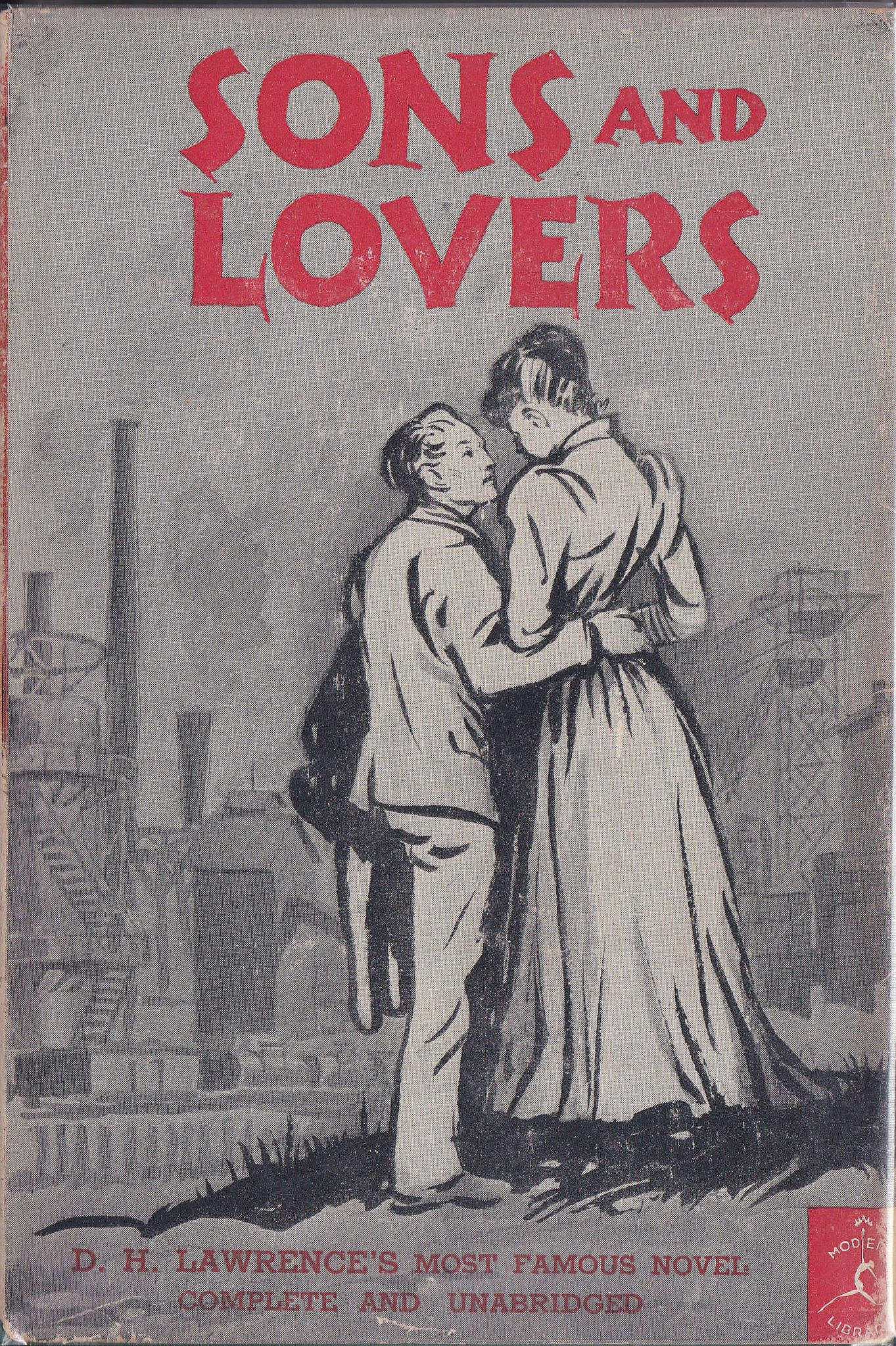 "https://flic.kr/p/BHipts | sons | ""Sons And Lovers"" by D. H. Lawrence. 109 of the Modern Library series."