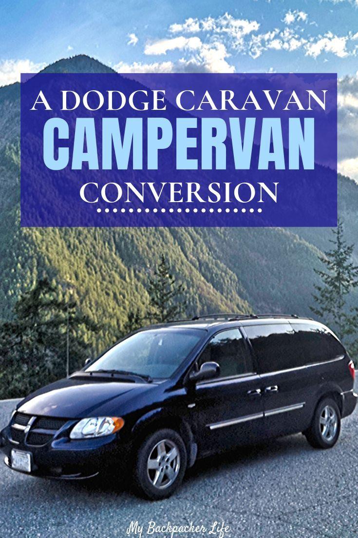 Photo of A Minivan Camper Conversion – our Dodge Grand Caravan Conversion –