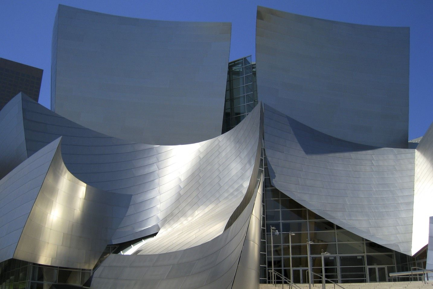 Walt Disney Concert Hall Los Angeles Usa Walt Disney Concert Hall Concert Hall Architecture Details