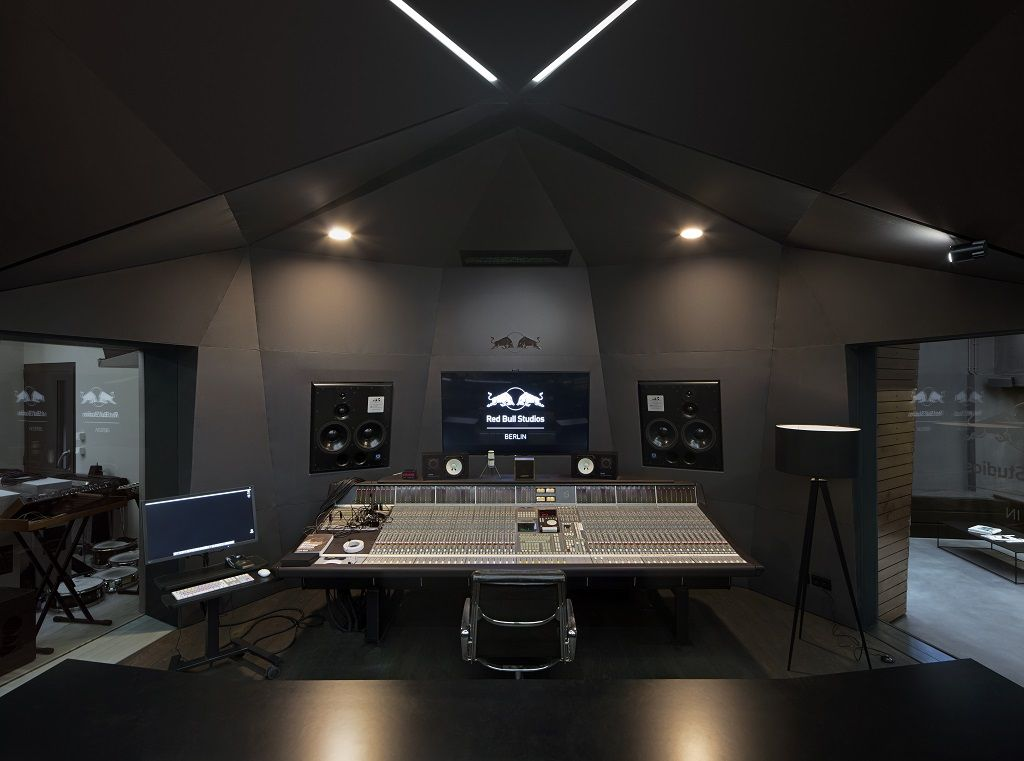 discount sale shoes for cheap buy Red Bull studio, Berlin, Germany in 2019   Recording studio ...