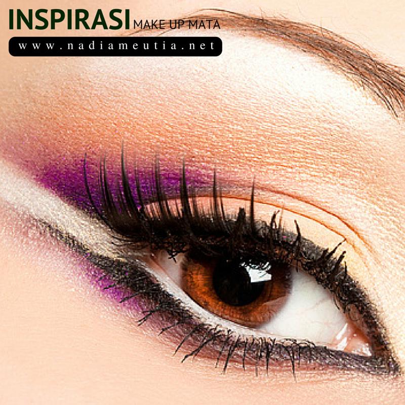 Pin oleh Nadia Meutia Marzuki di Inspirasi Make Up Mata