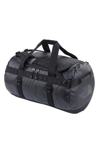 f28e276dde The North Face Women s  Base Camp - Medium  Black Sparkle Duffel Bag - Black