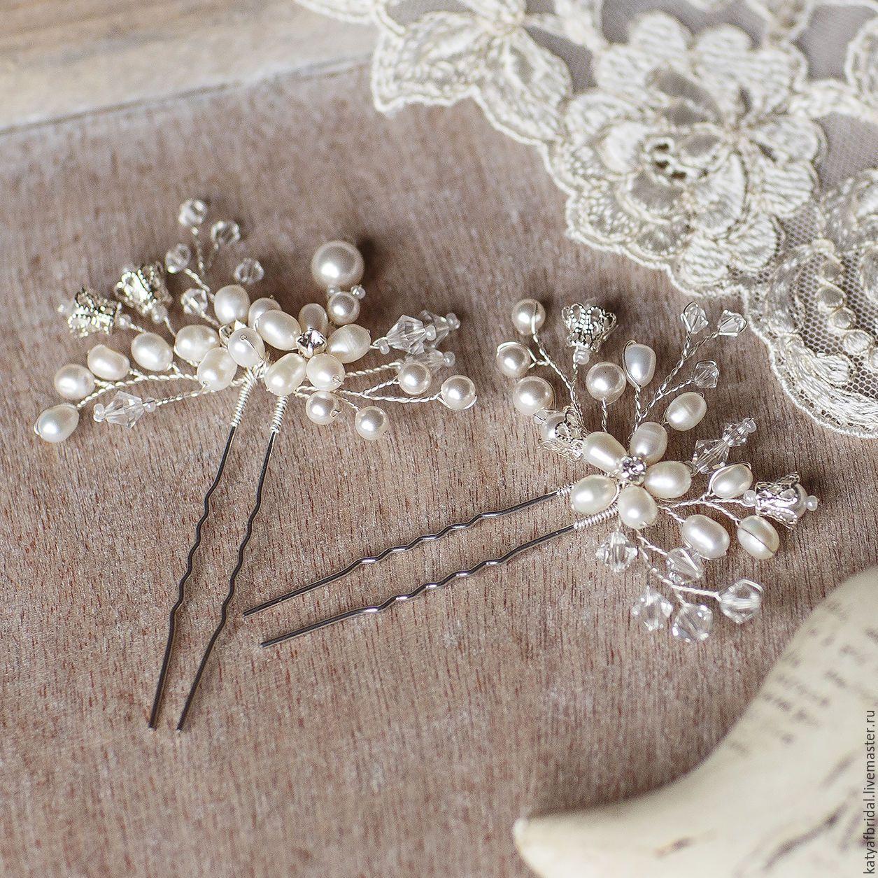 Шпильки для невесты своими руками фото 425