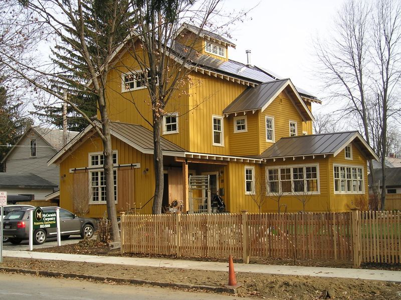Billy Fucillo House On Cottage Street Nearly Finished A