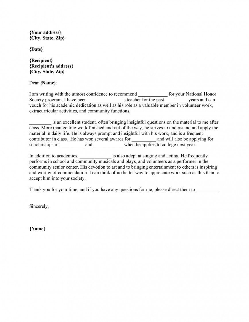 Recommendation Letter For Student Scholarship In 2021 Letter Of Recommendation Reference Letter Letter To Teacher