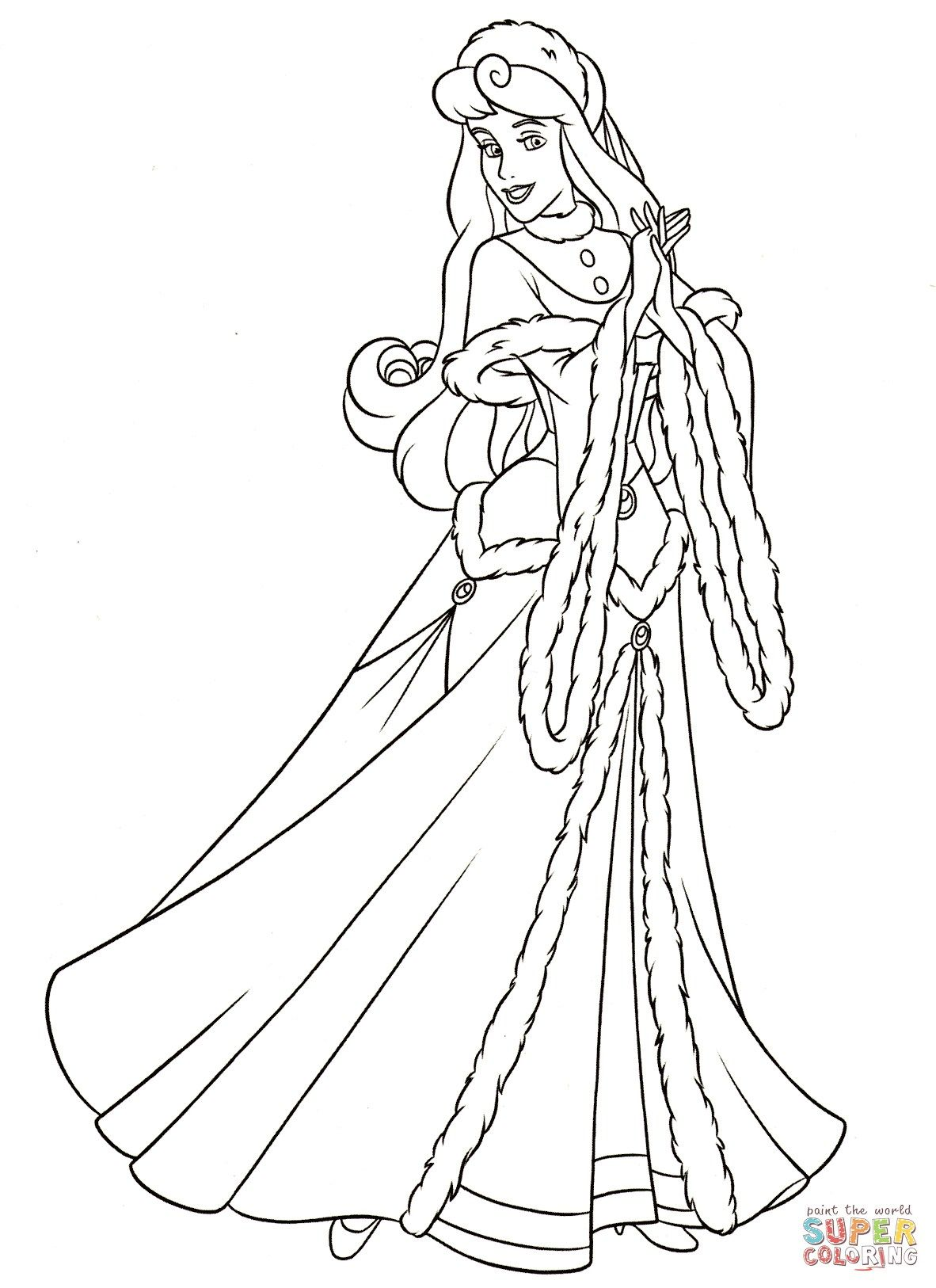24+ Amazing Image of Aurora Coloring Pages Sleeping