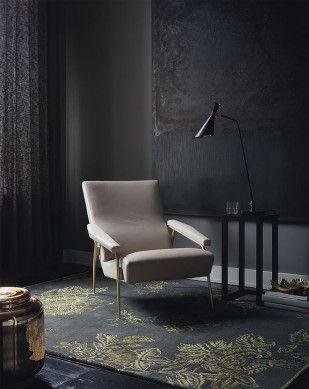 Fantastisch Wedgwood Teppich Tonquin Charcoal 37005 Moderne Opulenz Und Historisches  Flair. Mystische Farben Und Erstklassige Materialien