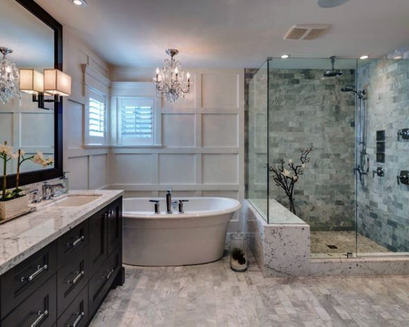 Stylish Modern Family Bathroom Design Ideas For Small Home Space