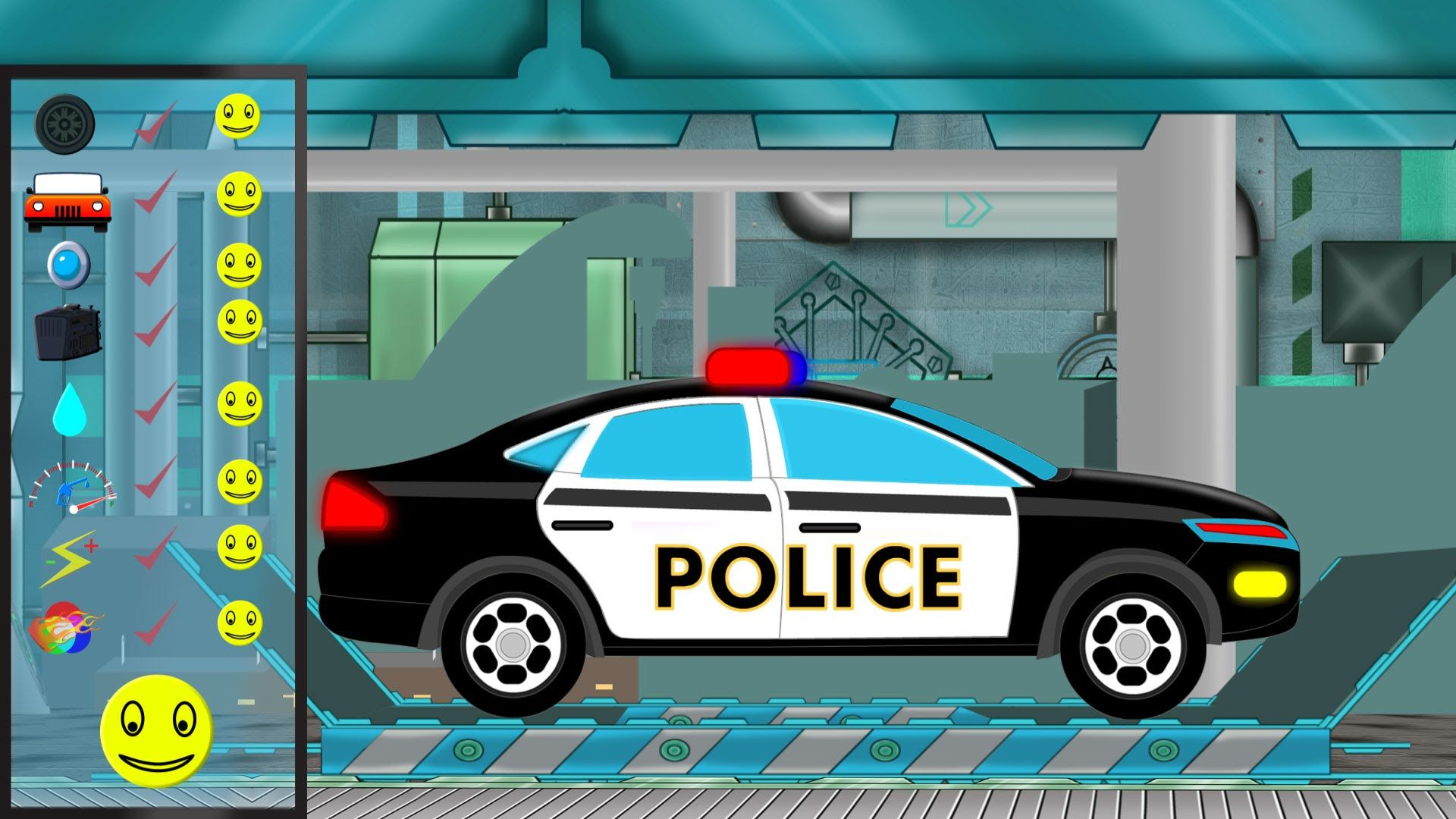 Police Car | Police Car Repair | Car Garage | Car Repair | Ideas for ...