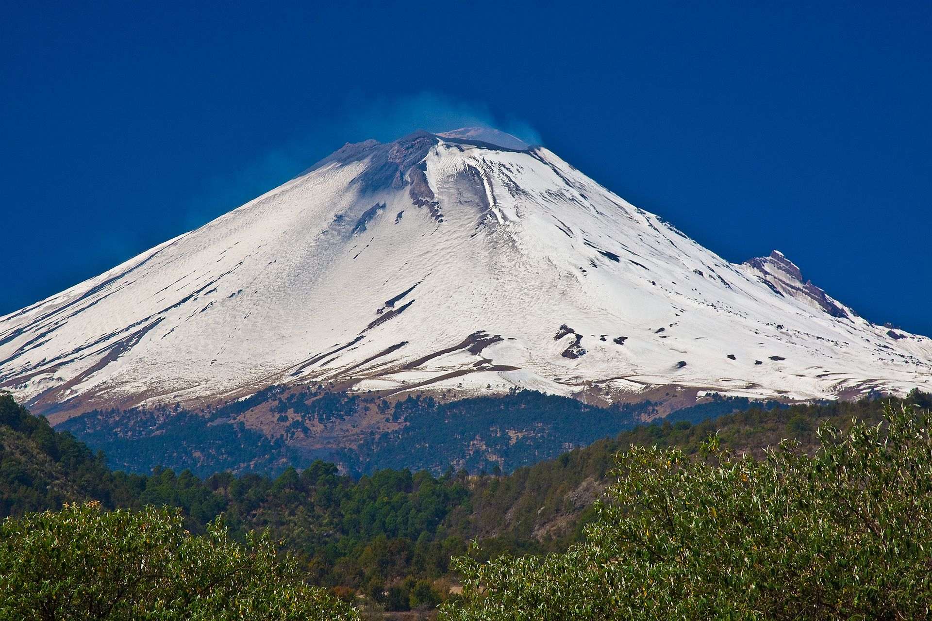 Mexiko - Popocatépetl