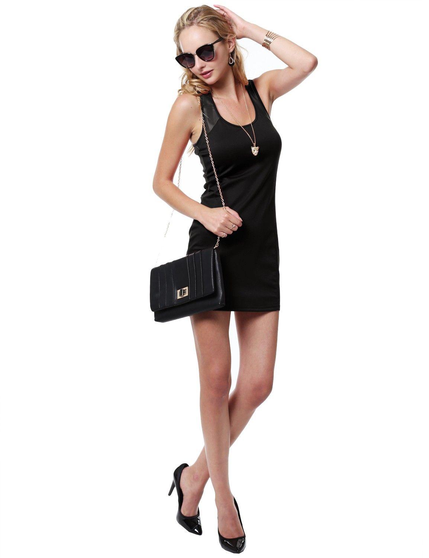 Night Out Sleeveless Fitted Mini Dress #11foxy