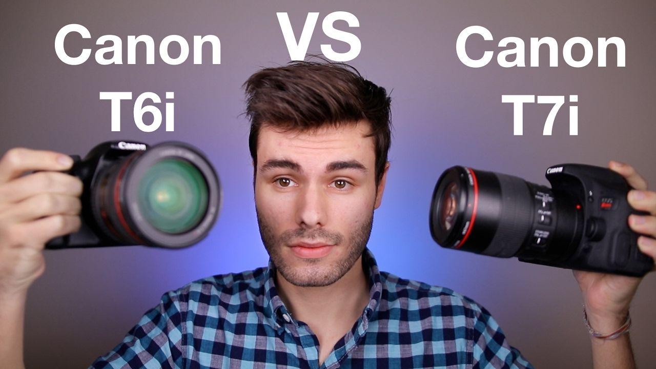 Canon T6i (750D) vs Canon T7i (800D) | Cameras | Canon
