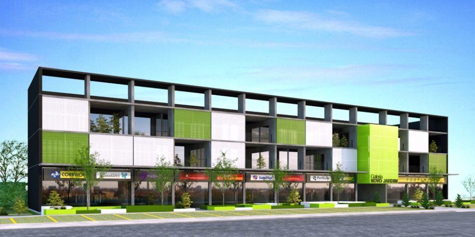 Galeria novo jardim projetos elementar arquitetura - Galeria comercial ...