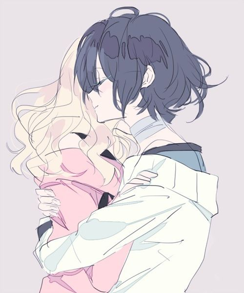 Diabolik Lovers (More Blood)- Yui x Azusa #Anime #Game #Otome