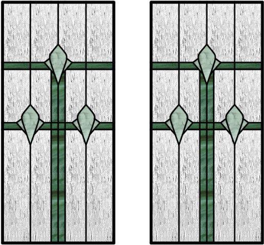 Stained Gl Door