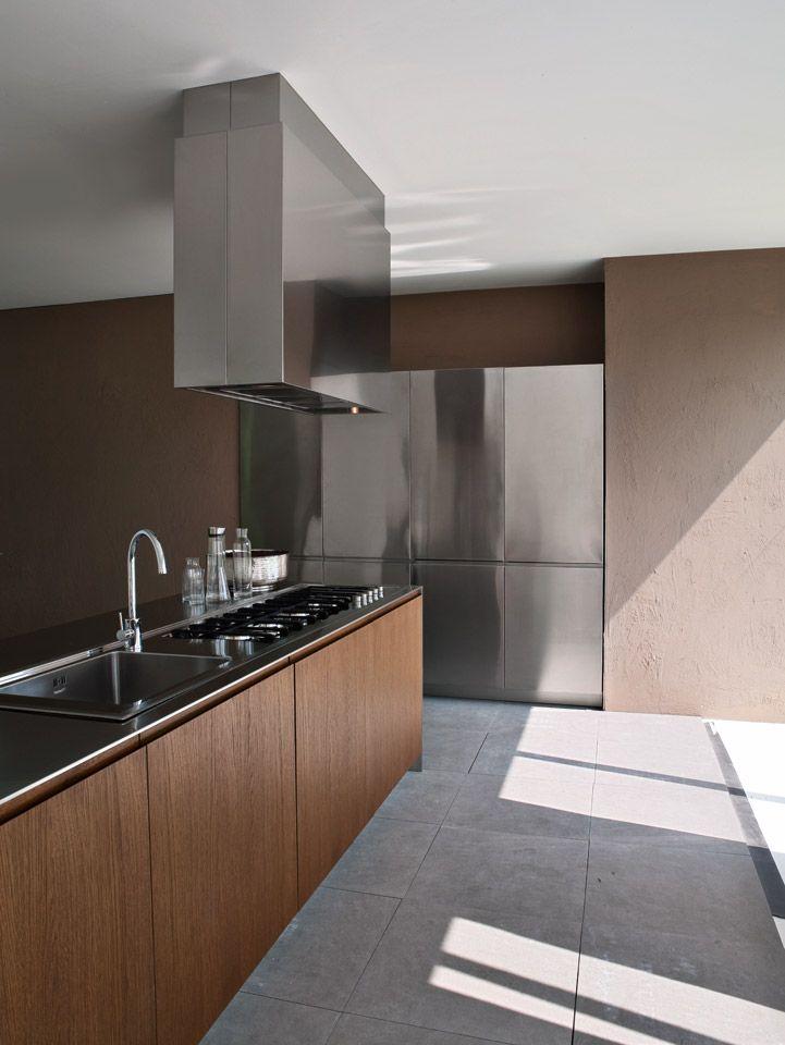 Design And Modern Kitchens Inspirations Elmar Cucine Kitchen - Contemporary kitchen with modular work island el_01 by elmar
