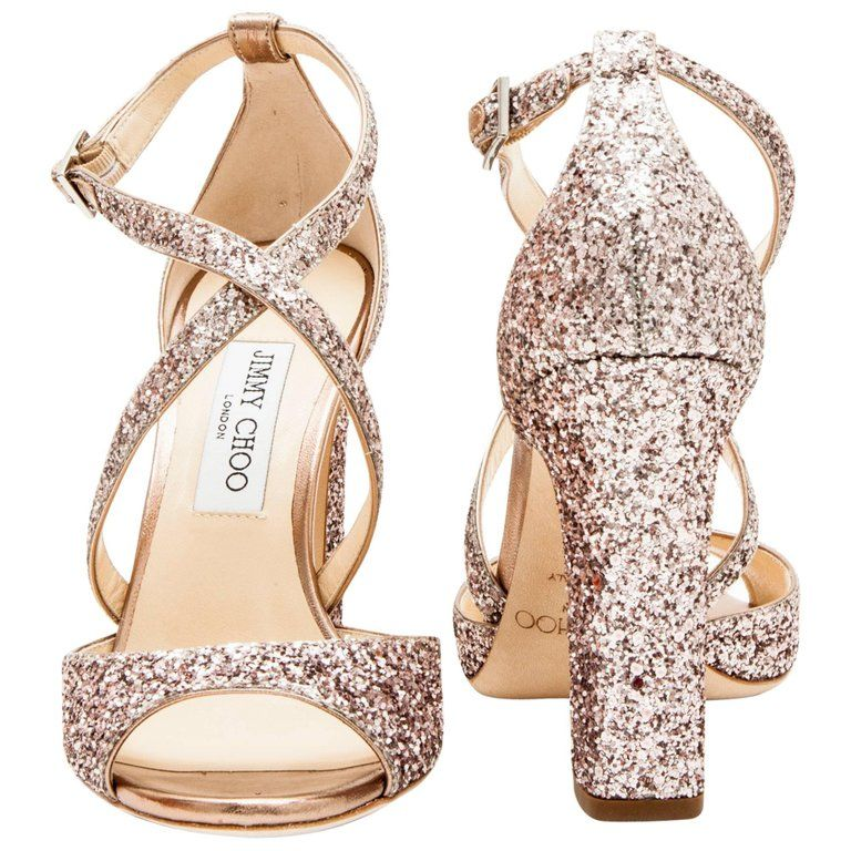 c13523c457ab Jimmy Choo High Heel Sandals Sequins Eu High Heels