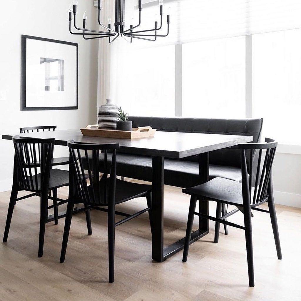 Rus Matte Walnut Dining Chair Black Dining Chairs Walnut Dining Chair Dining Room Design #walnut #living #room #furniture