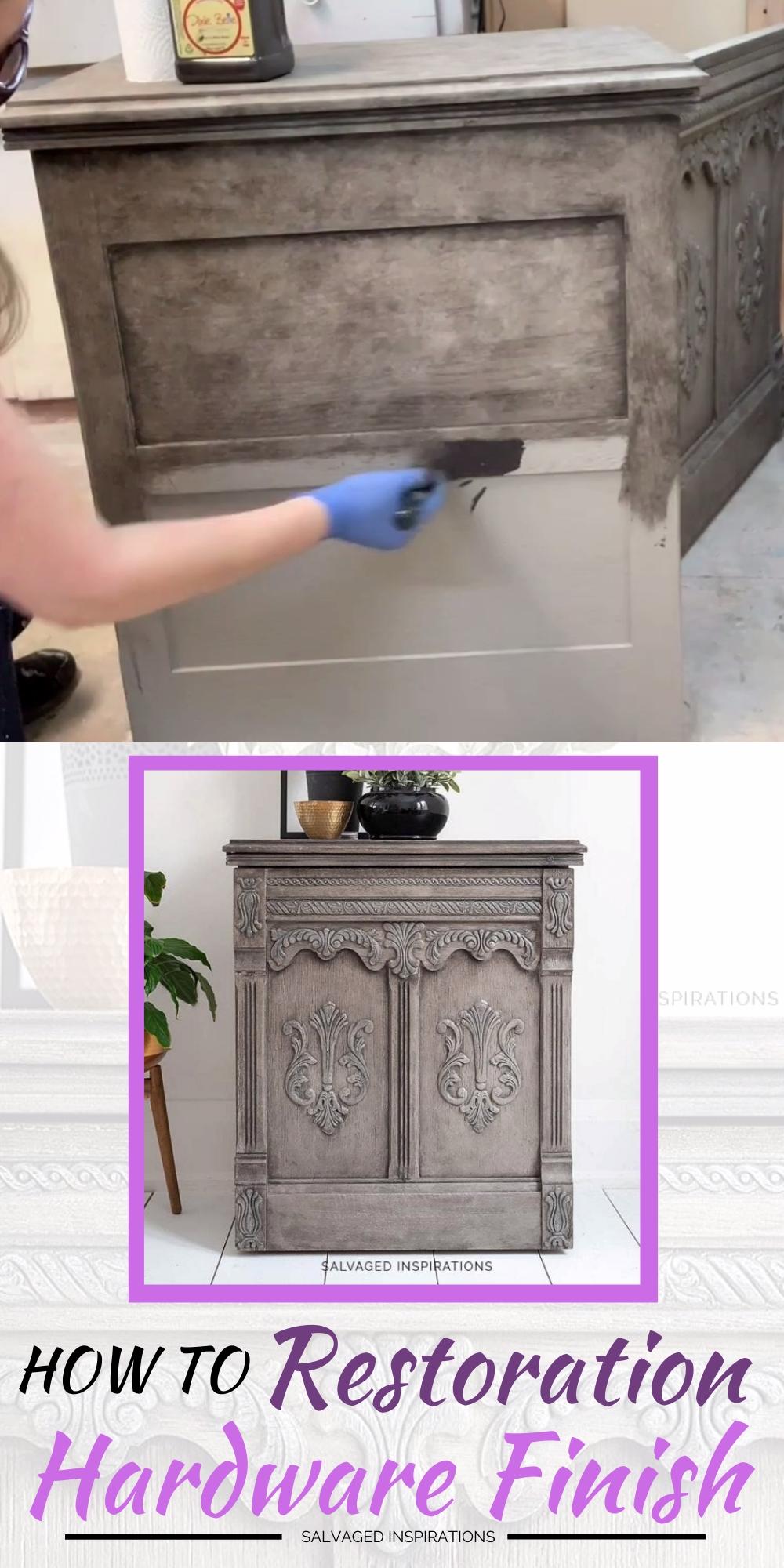 DIY Restoration Hardware Paint Finish