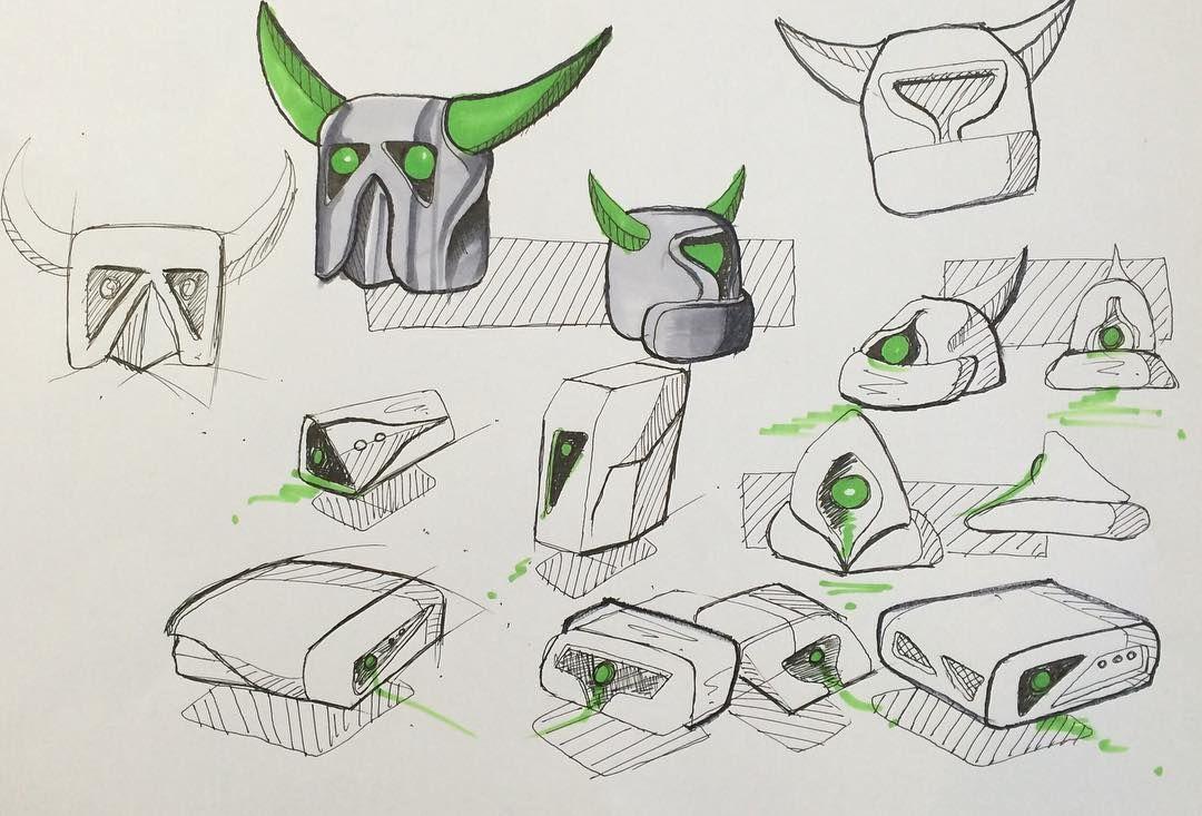 Pekka projector? #clashroyale #pekka #productdesign #industrialdesign by dnatallion