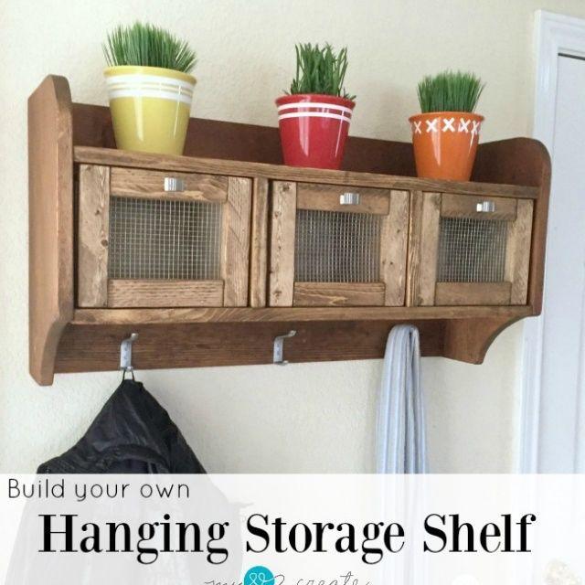 Hanging Storage Shelf   My Love 2 Create