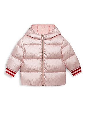 Gucci Baby s Blouson Puffer Coat  23fe4a21ab