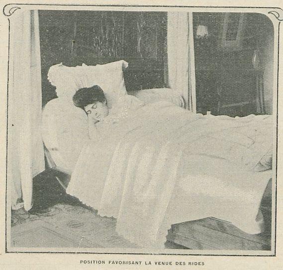 L'art de bien dormir pour éviter les rides, mais pas les bleus #ParceQueJeRonfleMoiSurLeDos 1/2