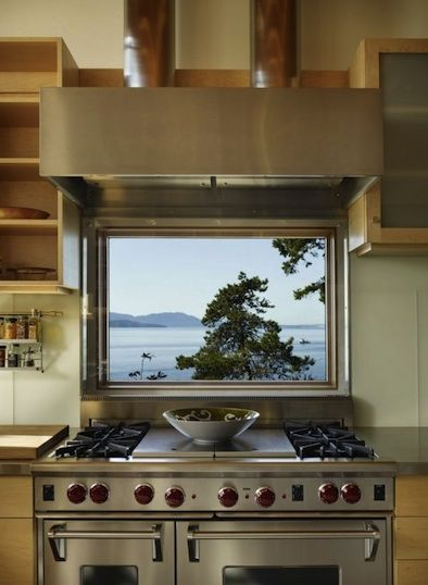 great view while you cook