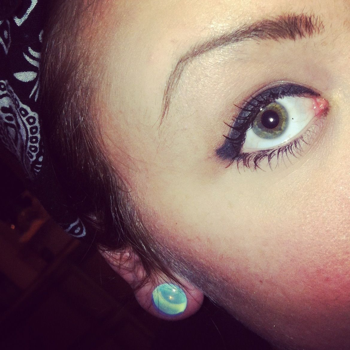 #dilated #pupils #gauges #stretchedears