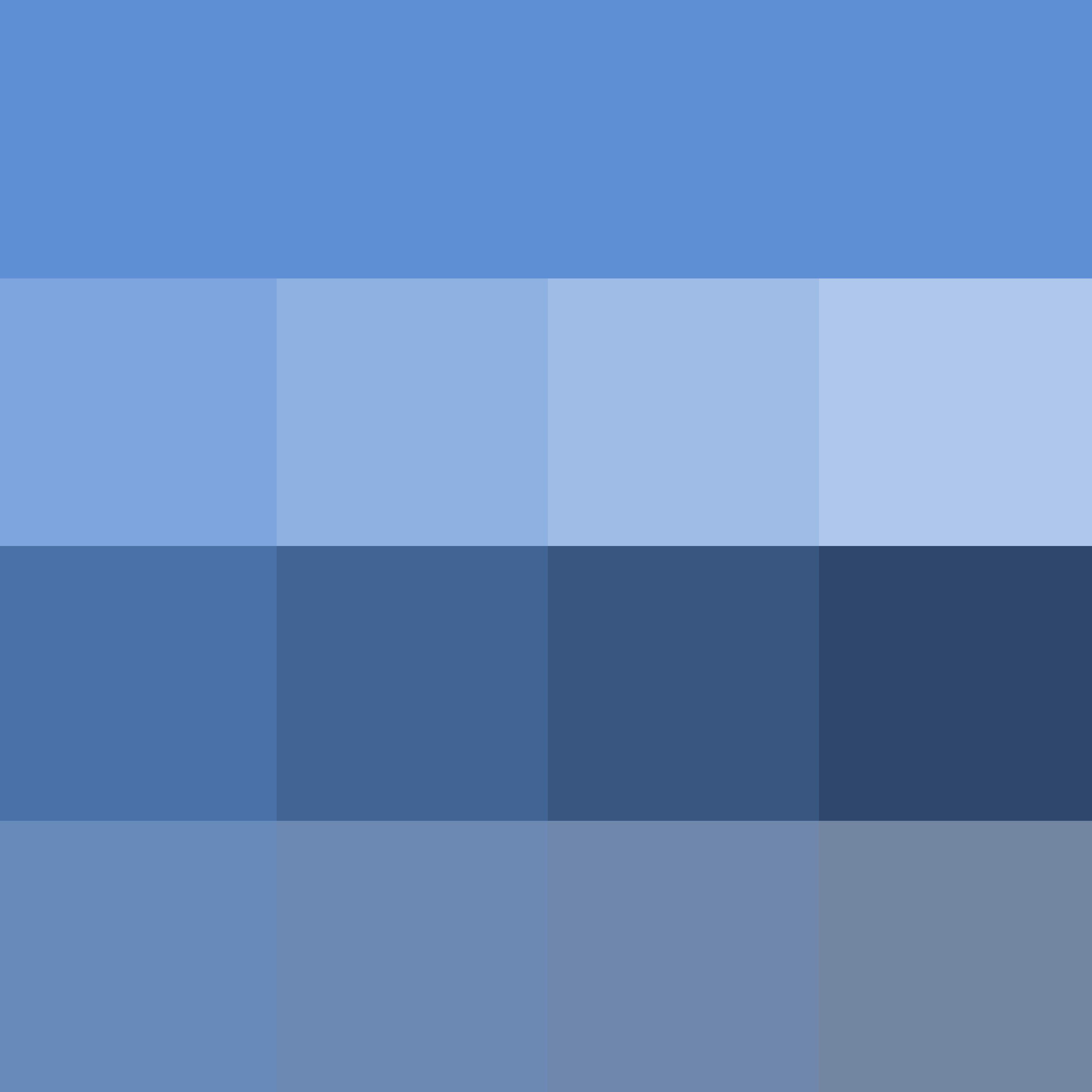 pantone azure blue - hue ( pure color ) with tints (hue + white