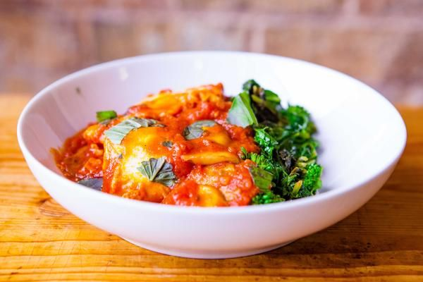 Eggs in Purgatory with Mushrooms & Broccoli Rabe. Tessemae's | Whole30