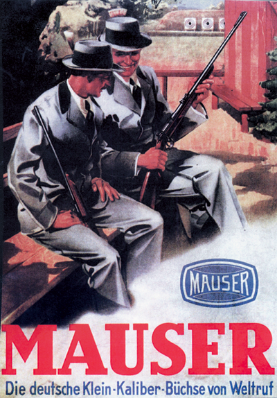 Image result for 1930s mauser advertisement