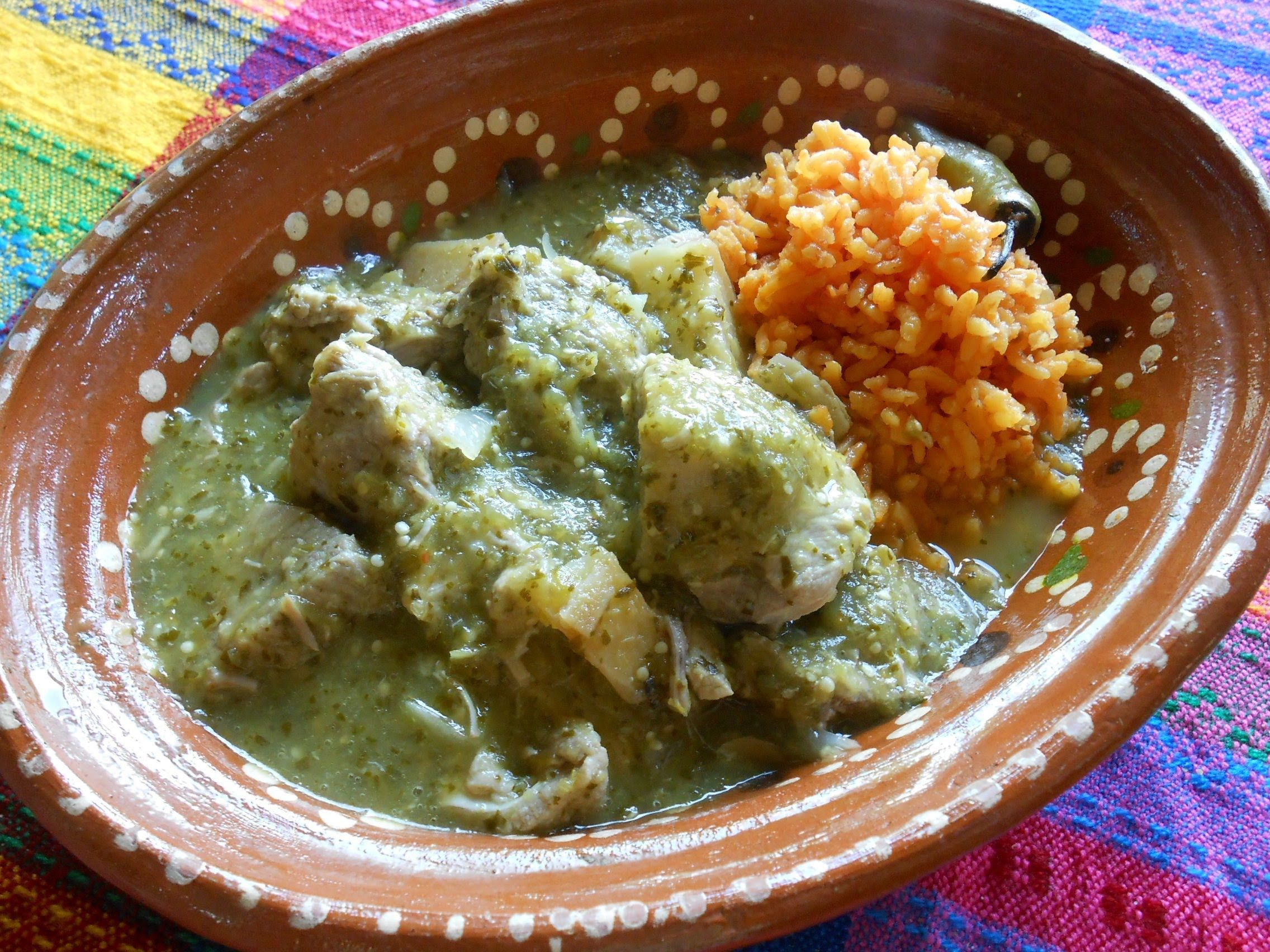 Chile Verde Pork. Salsa Verde with Pork Recipe. This fantastic ...