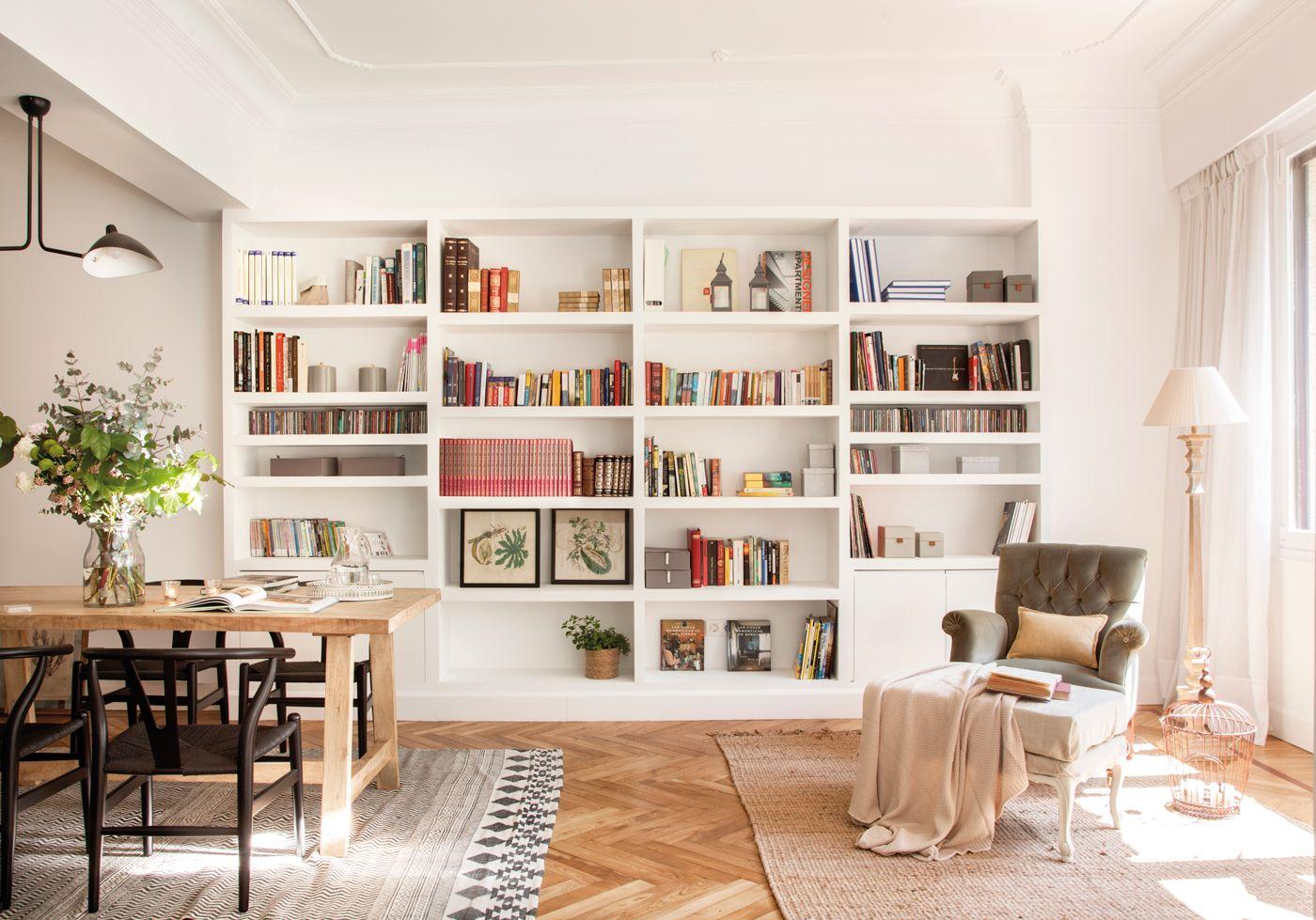 Librerías de todos los estilos en El Mueble en 2019 | decoracion ...