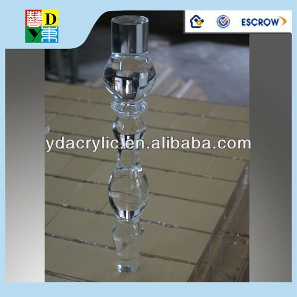 Bespoke Clear Acrylic Dining Table Base China Manufacturer Bases Product On
