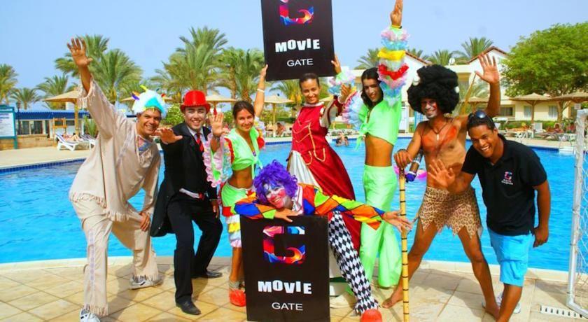 عرض عيد الفطر بفندق موفى جيت بيتش الغردقة Golden Beach Movies Beach