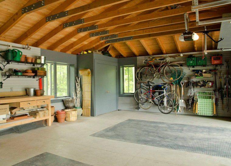 Des Idees Pratiques Pour Votre Rangement Garage Interieur De Garage Design Garage Remodelage De Garage