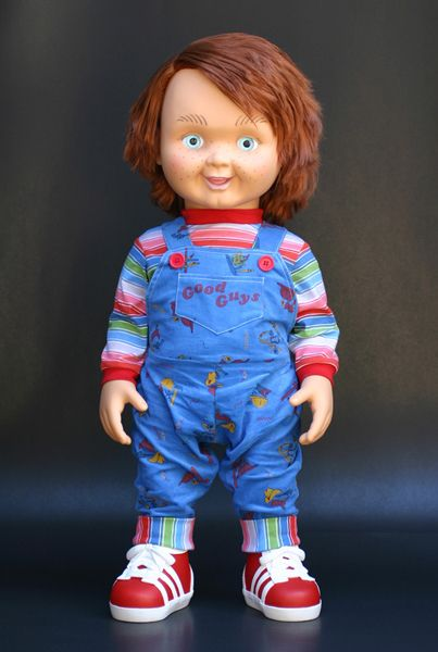 Have A Few Chucky Replica Heads Left Which I Bought By Movie Prop Collector From The USA Material Of This White Good Guy Head Is N