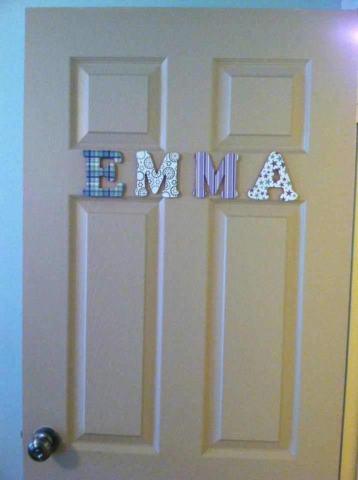 Kids Name Door Sign Door Signs Diy Bedroom Doors Bedroom Door Signs