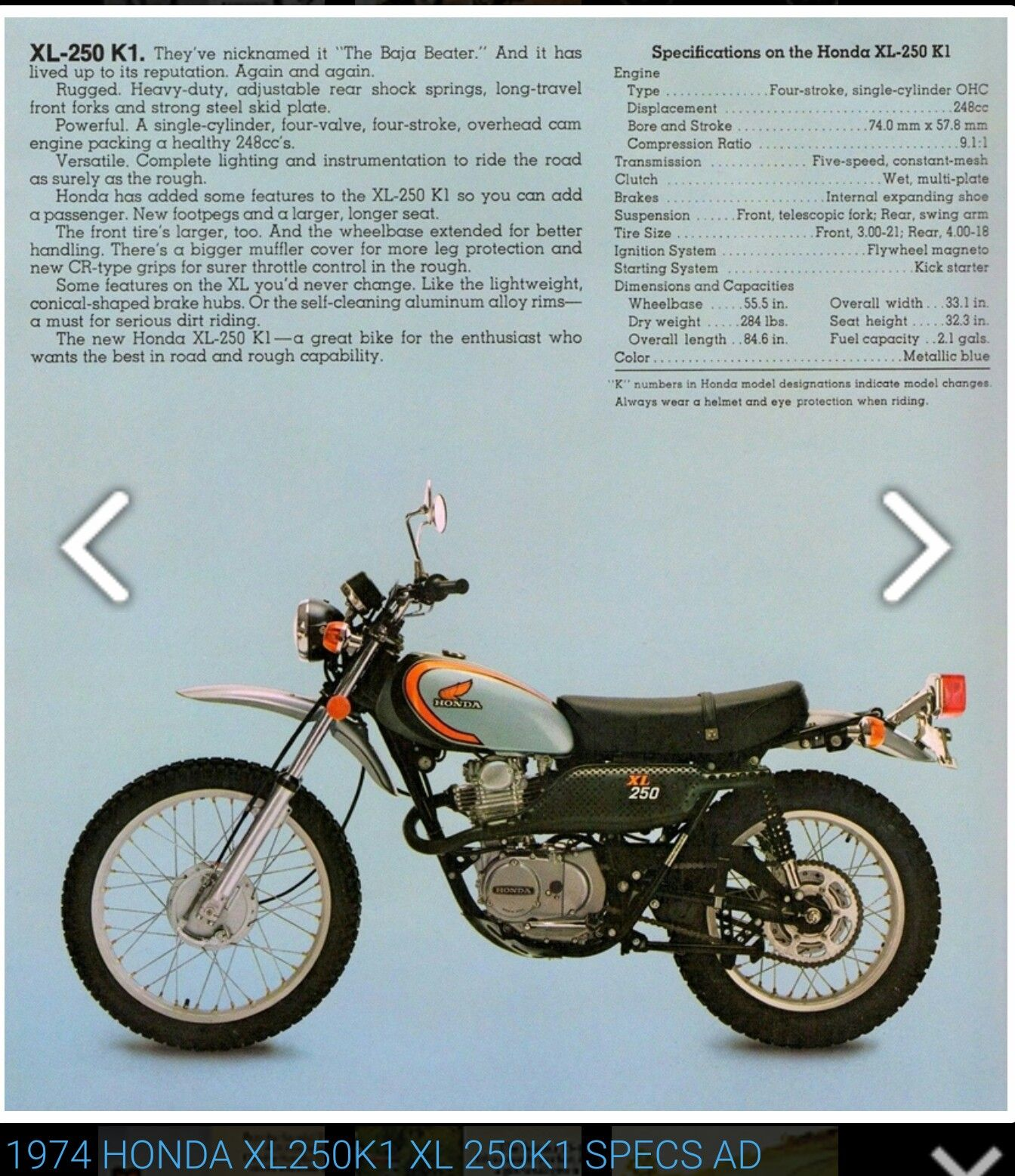 1974 Honda Xl250k1 - Wiring Diagrams •
