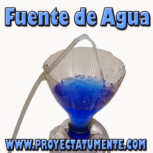 como hacer una fuente relajante de agua casera