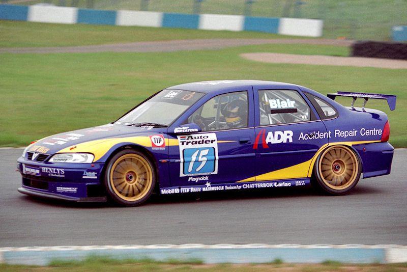 1999 Mark Blair Vectra Btcc Vauxhall Classic Racing Cars