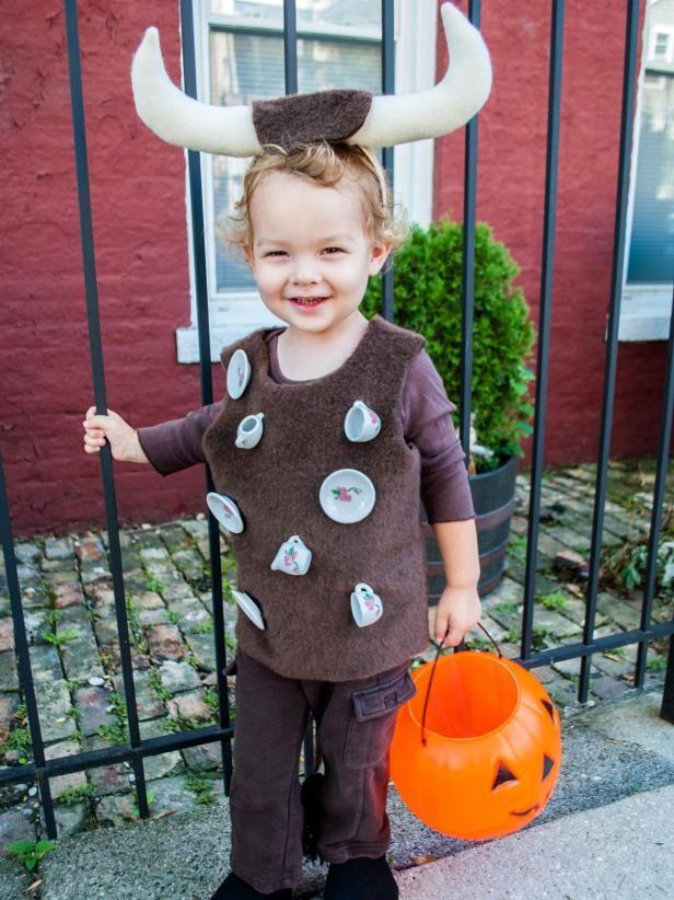 3f0da409b3 Disfraz de toro para niños en Halloween