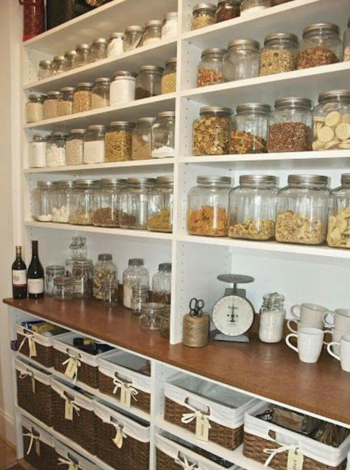 Pin by ginidesign on ~Home-Organized~ Pinterest Pantry