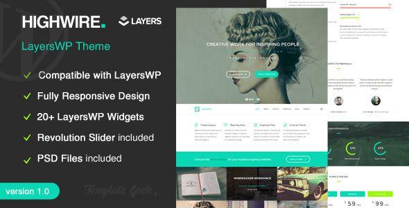 Highwire - LayersWP Business Wordpress Theme